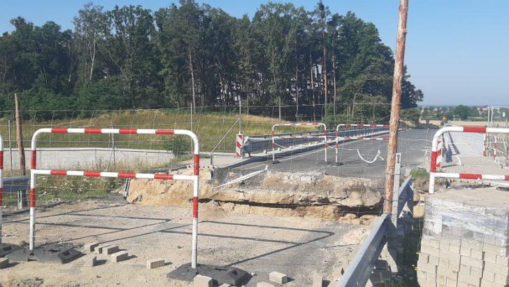 Nowy wiadukt już zamknięty