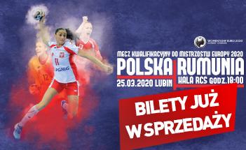 Bilety na mecz Polska – Rumunia już w sprzedaży!