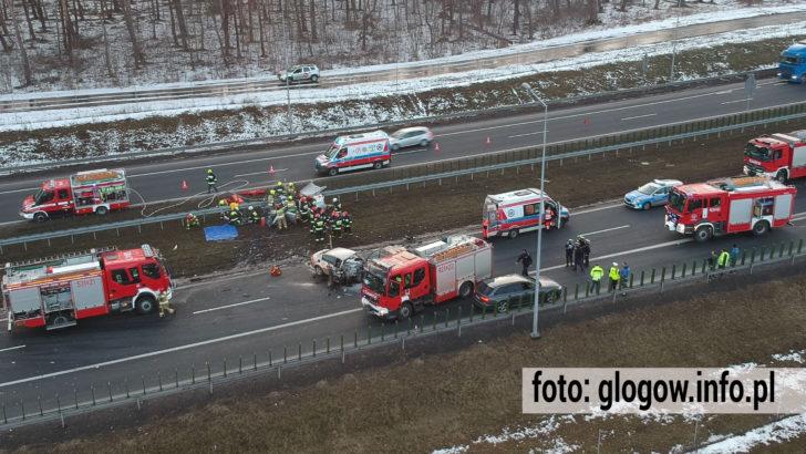Tragedia na S3. Kierowca jechał pod prąd