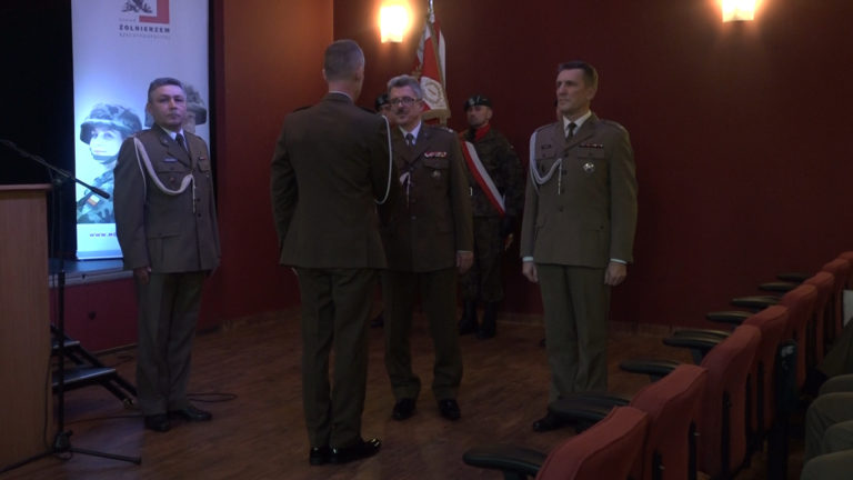 Komendant pożegnał się z garnizonem (WIDEO)