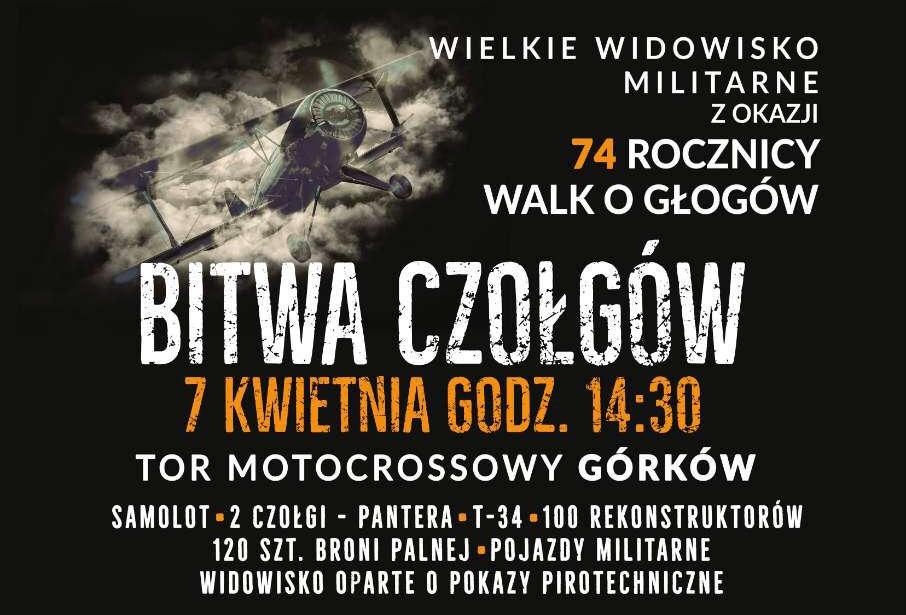 Bitwa czołgów w Głogowie!