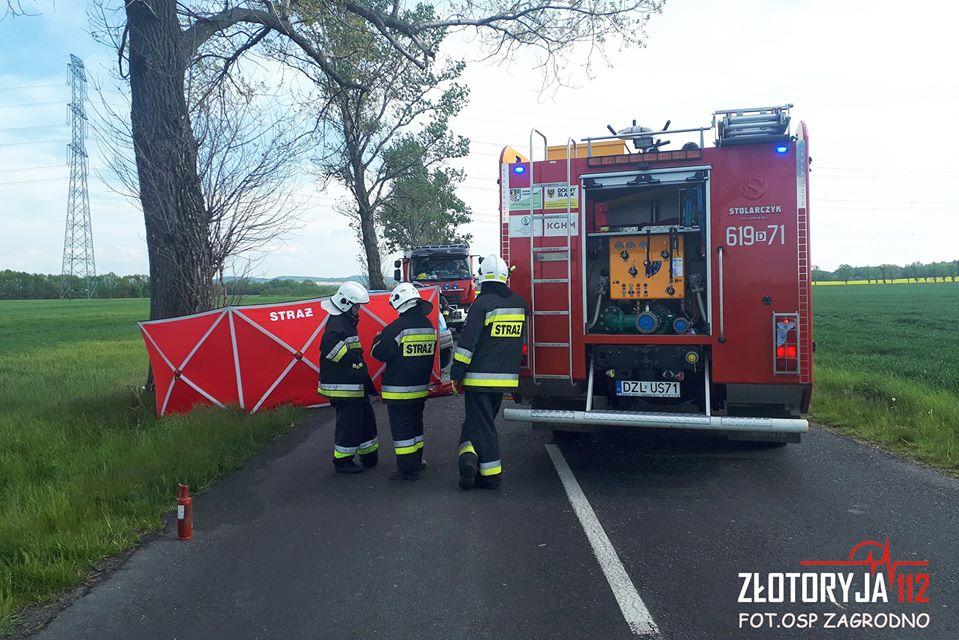 Tragedia na drodze. 36-latek zginął na miejscu (FOTO)