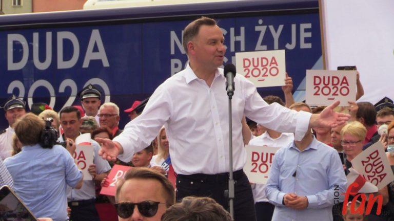 Chcę, aby rodzina była chroniona! –  Andrzej Duda w Złotoryi (FOTO)