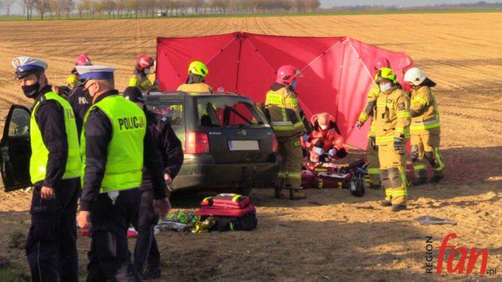Tragiczny wypadek pod Budziszowem (FOTO, WIDEO)