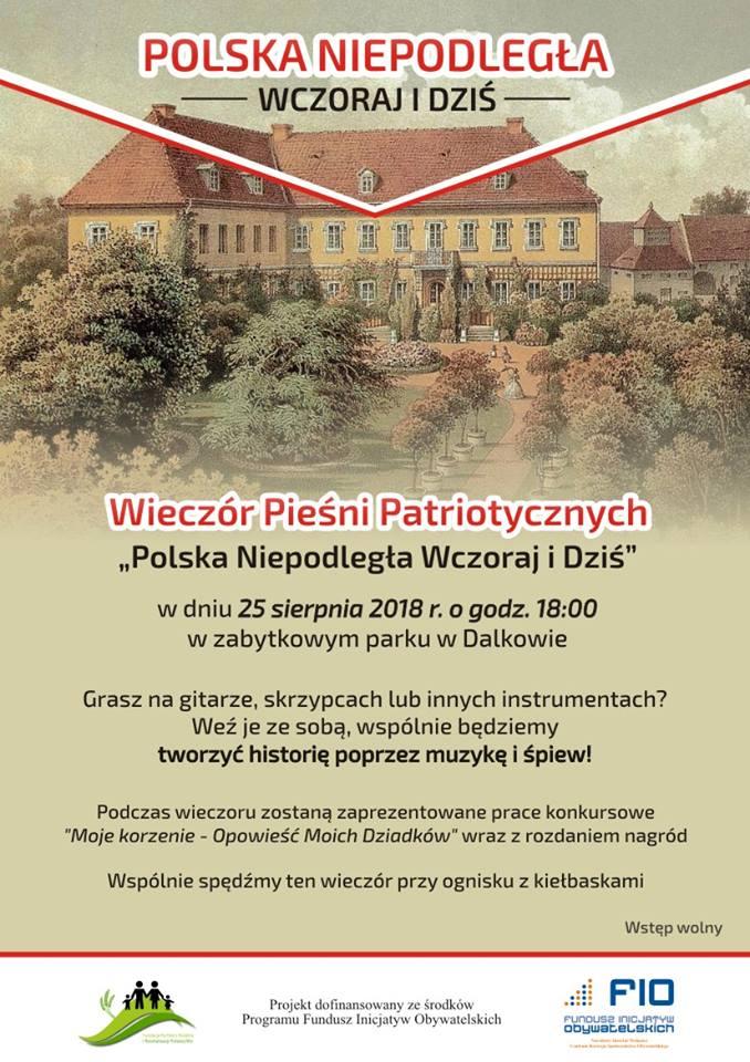 Pieśni patriotyczne w Dalkowie