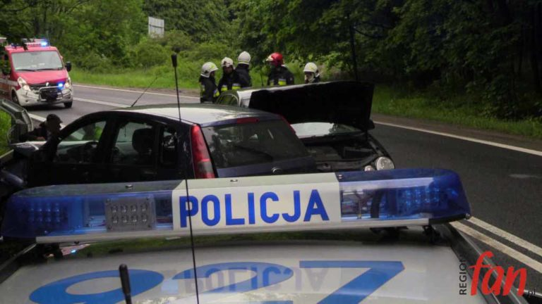 Zablokowana DK3. Kolizja trzech pojazdów (FOTO, WIDEO)