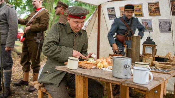 Pokazywali życie w czasach I wojny światowej (WIDEO)