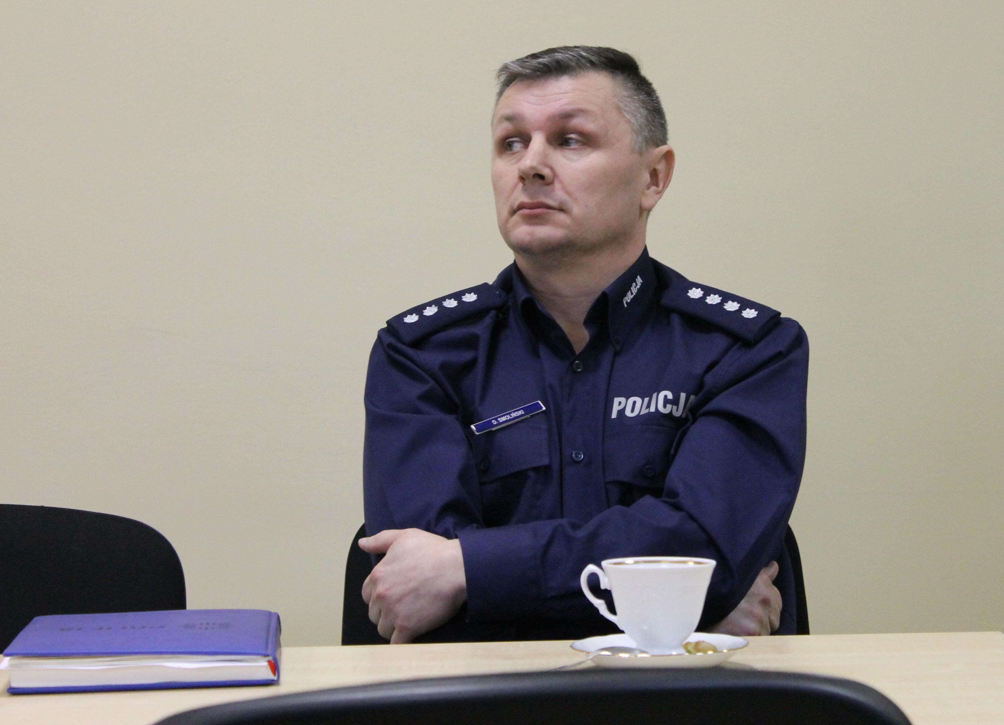 Dariusz Smoliński nowym zastępcą szefa legnickiej policji