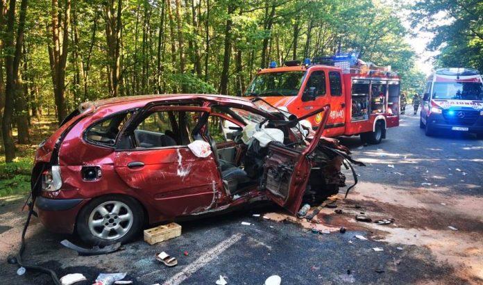 Aż dziewięciu rannych w wypadku