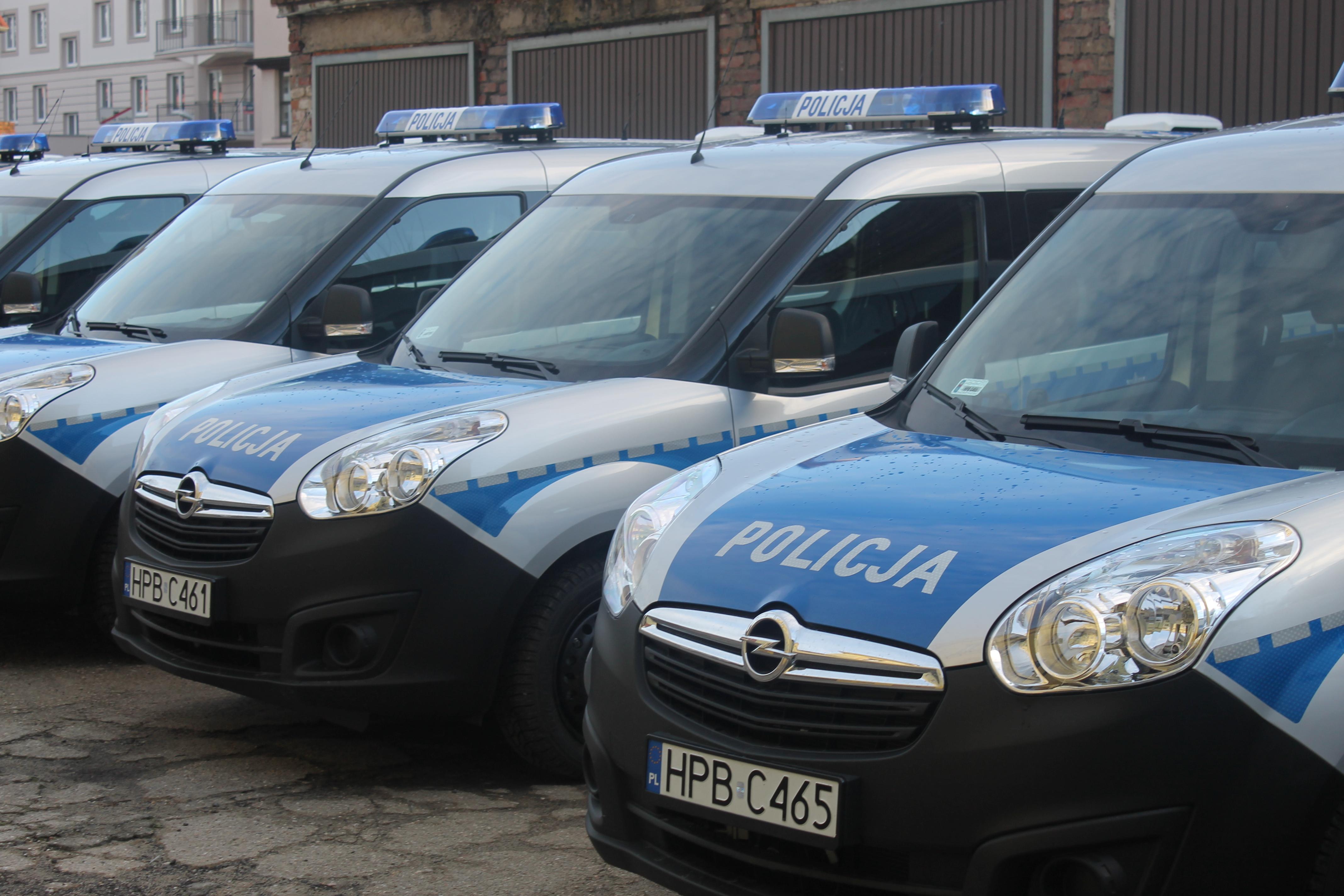 LUBIN. Nowe samochody dla policji