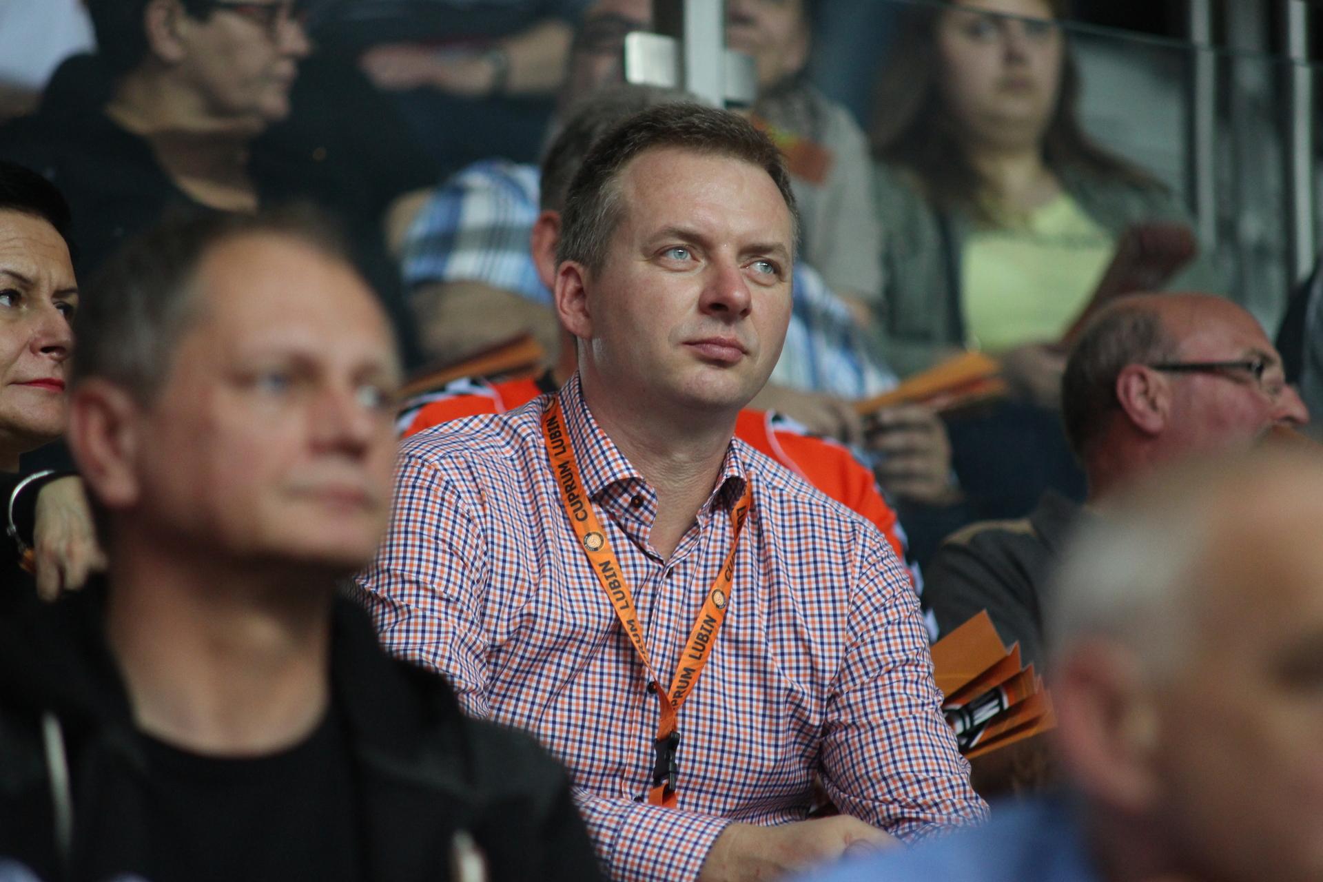 Dariusz Biernat zrezygnował z funkcji prezesa Cuprum Lubin
