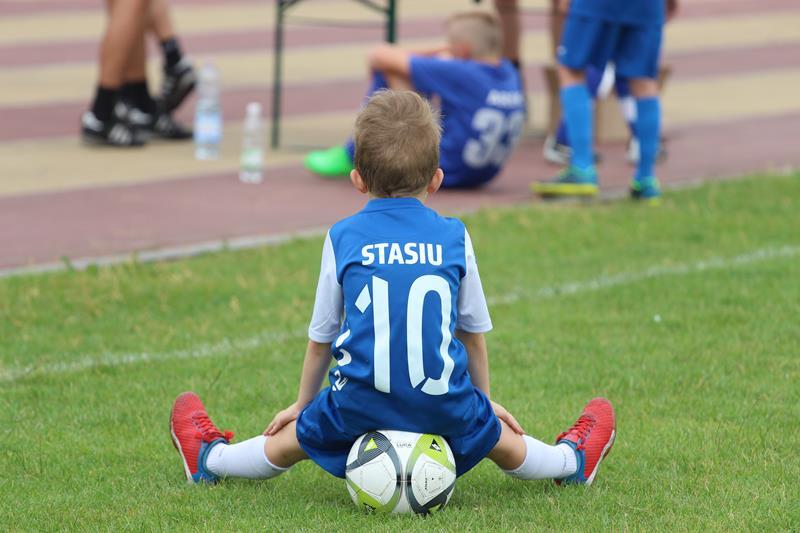 Duże emocje małych piłkarzy