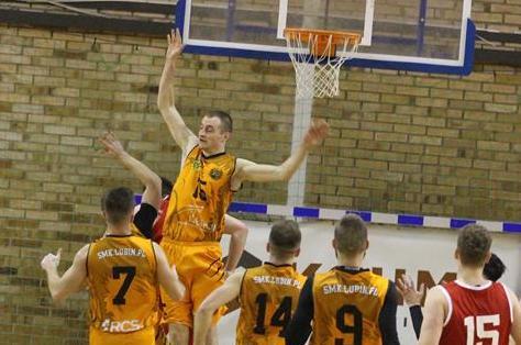 Koszykarze SMK Lubin pokonali ekipę z Oleśnicy