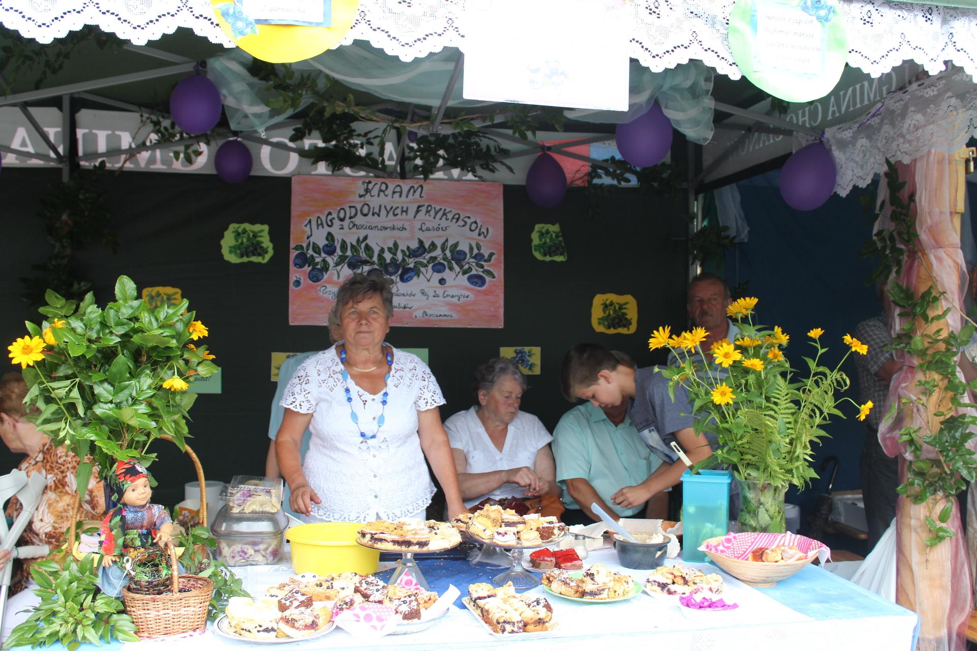 Jagodowe święto w Chocianowie