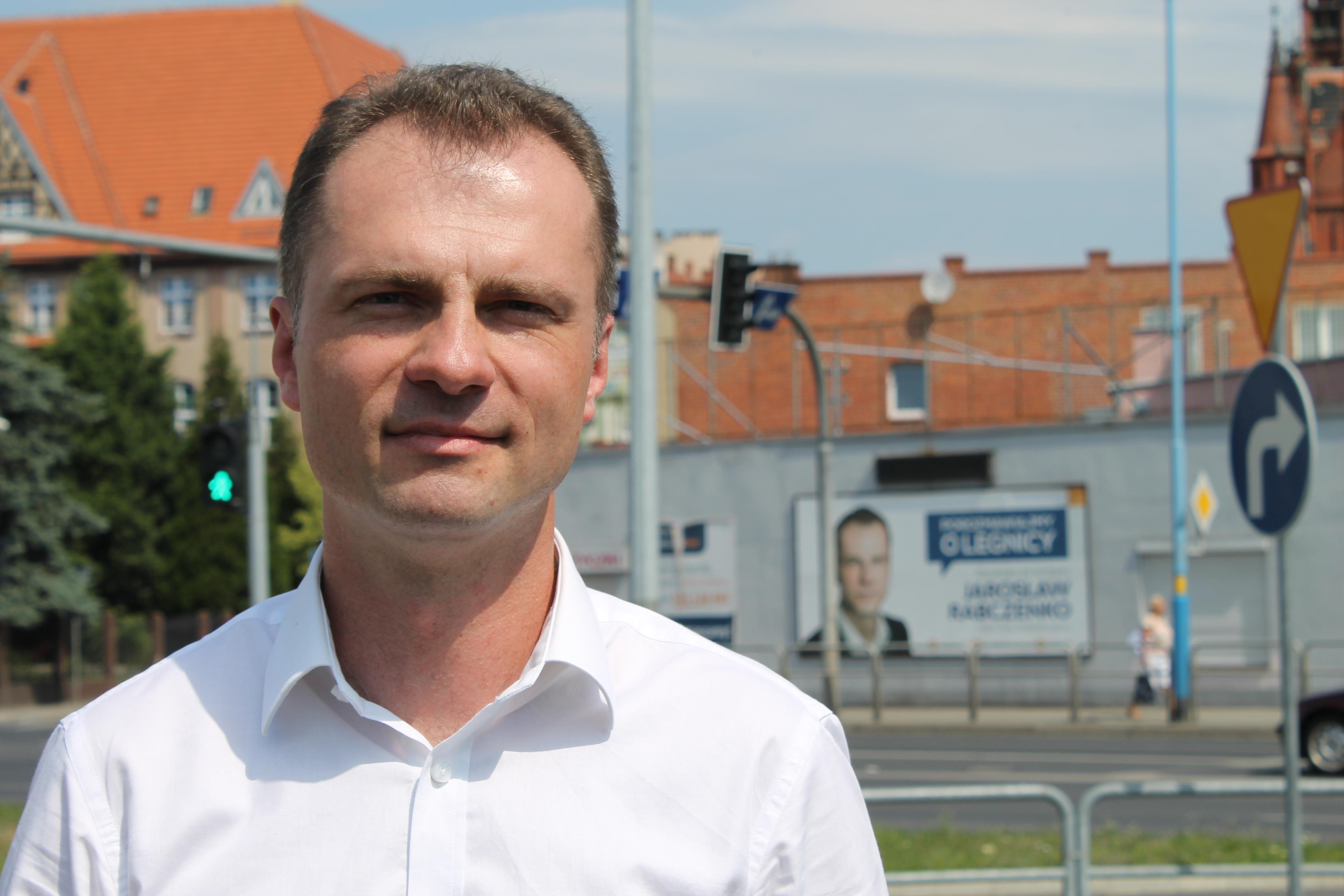 W Legnicy ruszyła już kampania wyborcza (WIDEO)