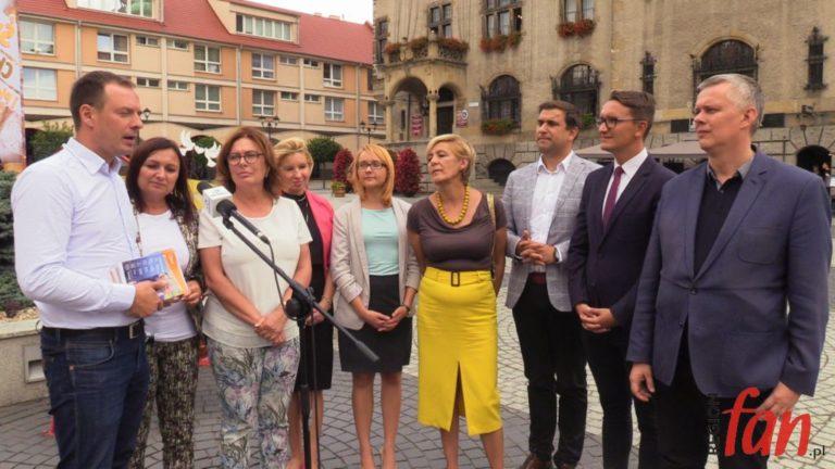 Politycy Koalicji Obywatelskiej odwiedzili Jawor (WIDEO)