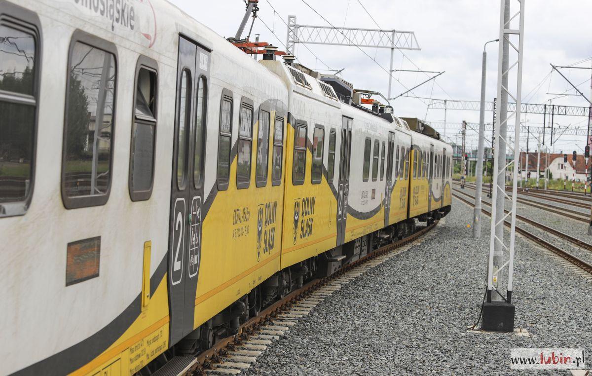 Lubinianie pokochali podróże koleją