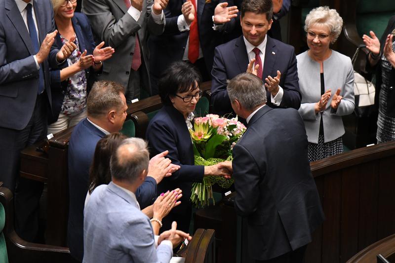 Elżbieta Witek nową marszałek Sejmu