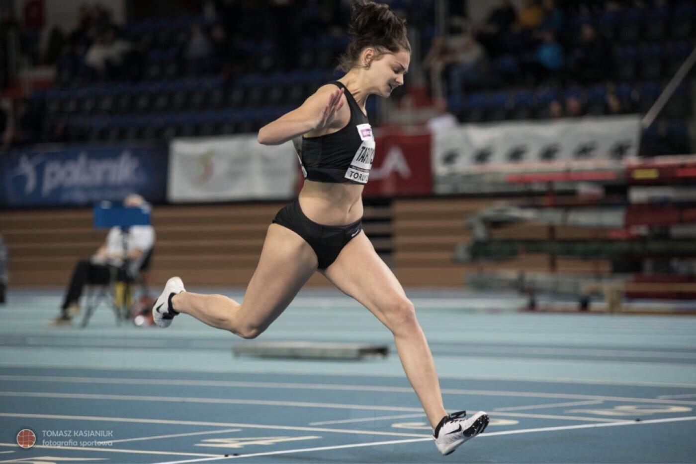 Nikola Tarnowska w czołówce polskich sprinterek