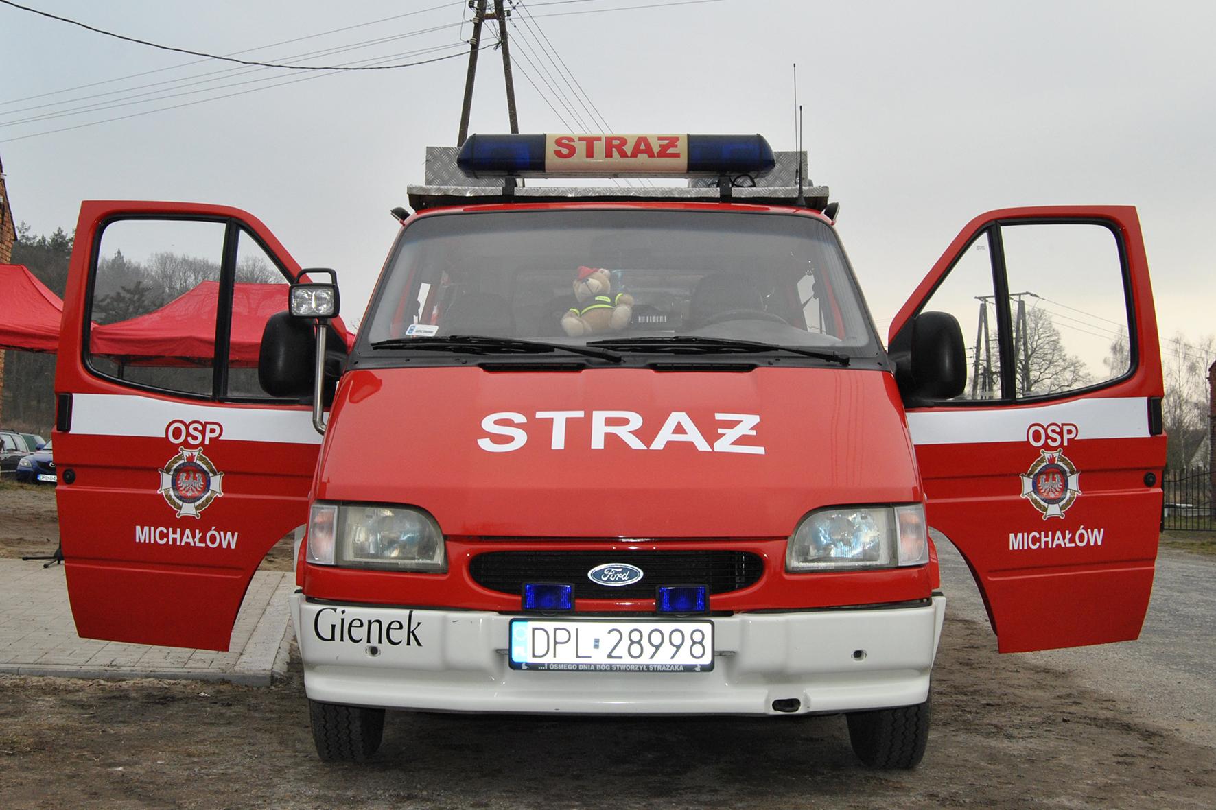 Prezent dla strażaków z Michałowa