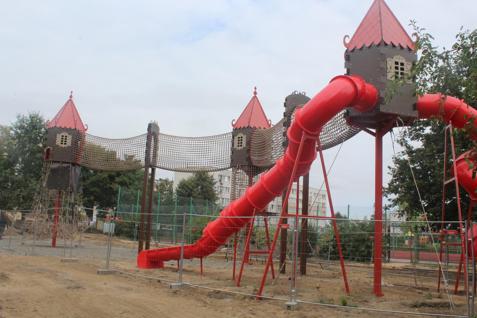 Park nadal w przebudowie, ale jest już bezpieczniej (FOTO)