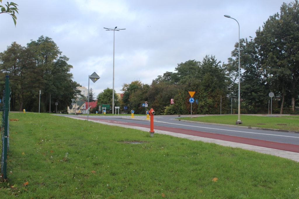 Kolejny etap prac na ul. Dąbrowskiego w Polkowicach