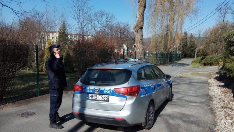 Ze złości zaatakował policjanta