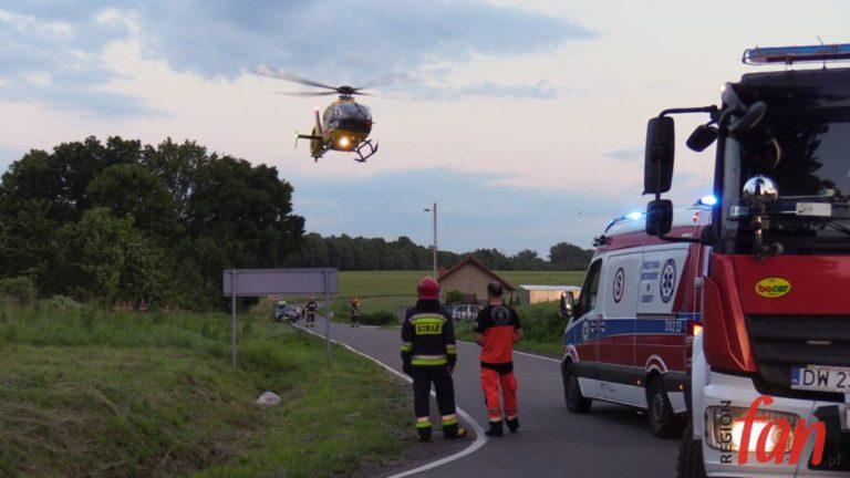 Szybka akcja ratowników medycznych (WIDEO)