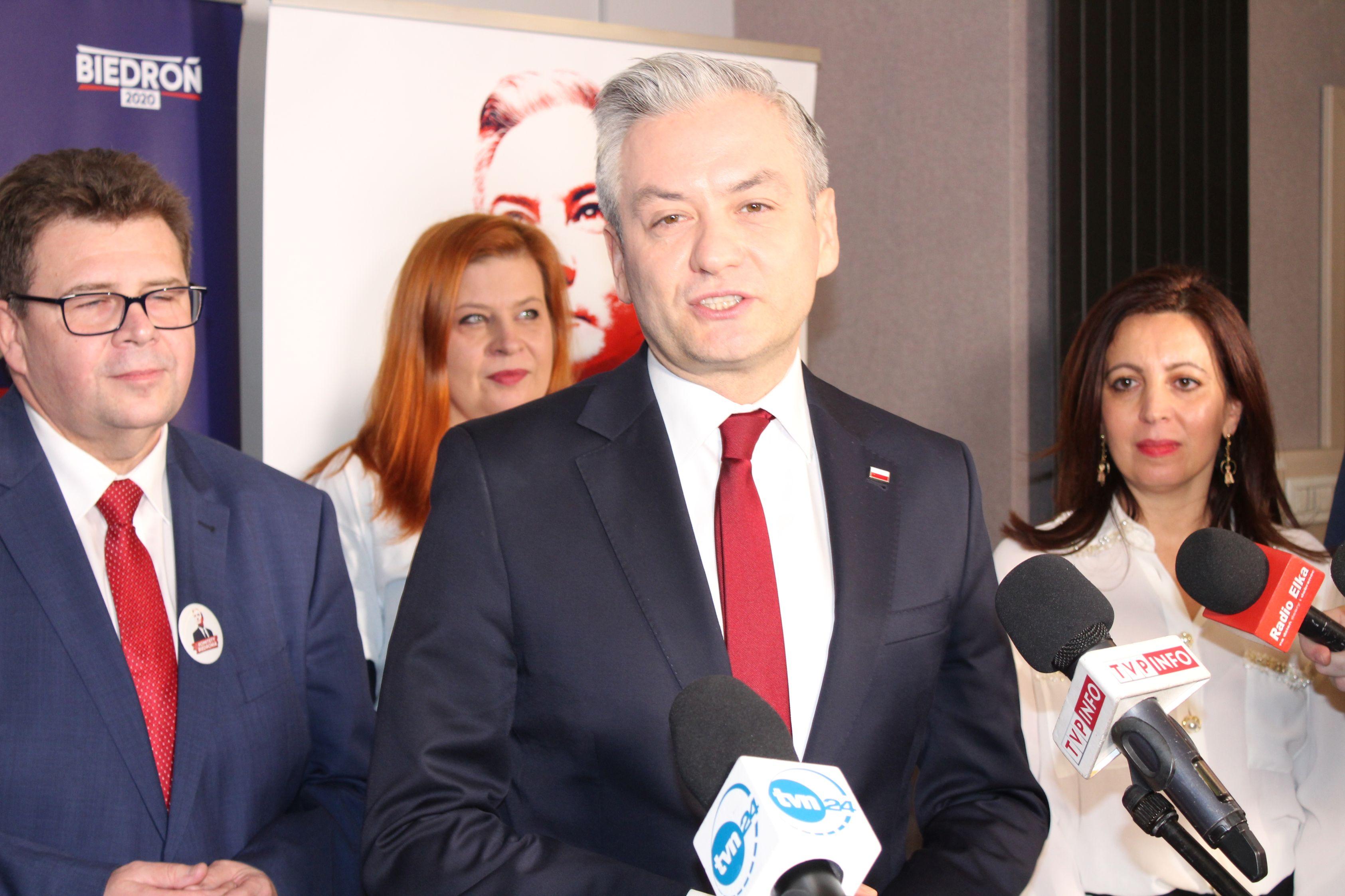 Robert Biedroń: Tak jak Lubin może się rozwijać cała Polska (FOTO, WIDEO)