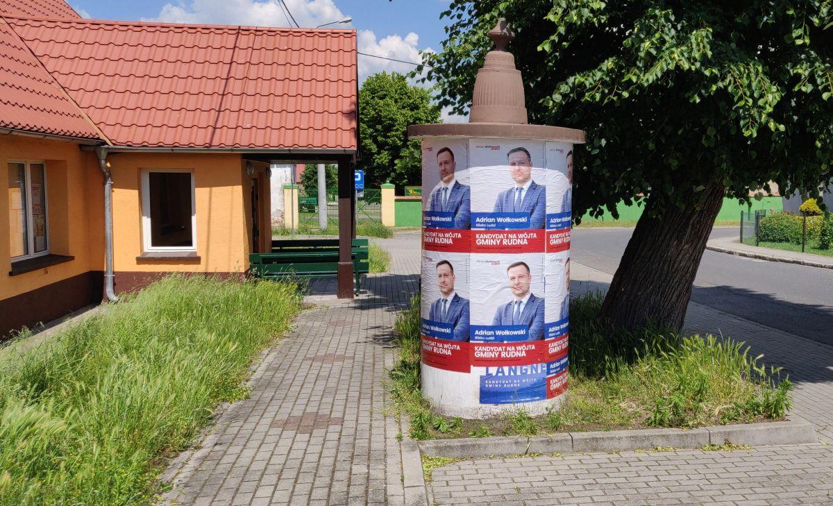 Wybory wójta Rudnej już w niedzielę. Kampania nabrała rumieńców