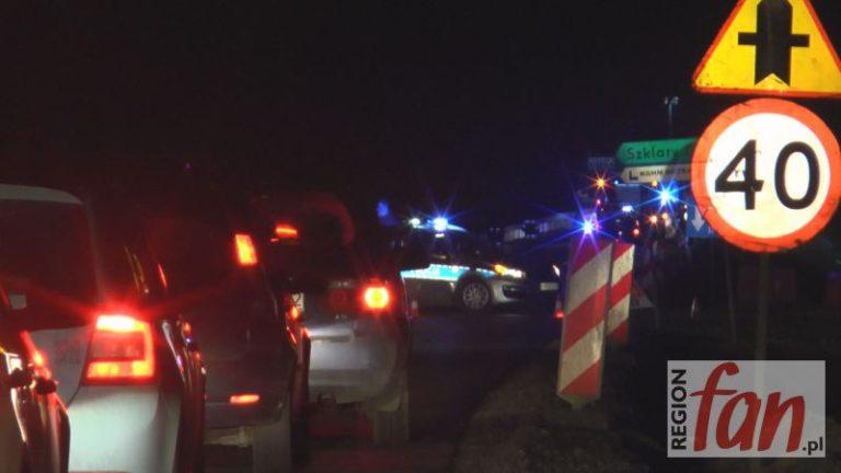 Wypadek na DK3. 7 osób w szpitalu, droga zablokowana