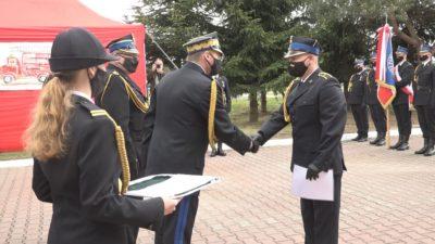 Polkowiccy strażacy świętowali (WIDEO)