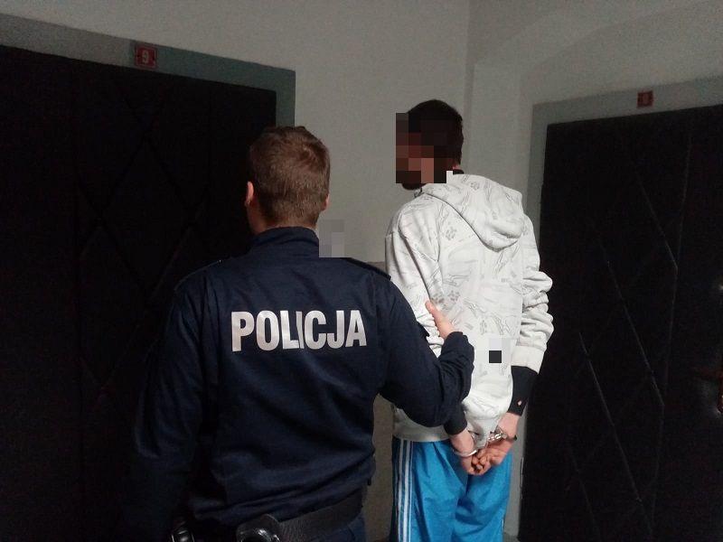 Włamywał się do piwnic. Jest już w rękach policji