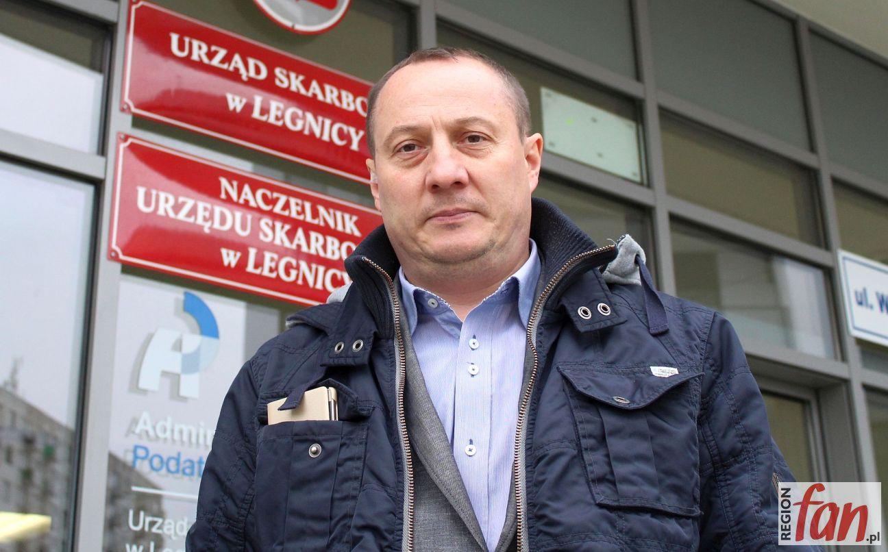 Walczy z fiskusem, chce powalczyć o Legnicę