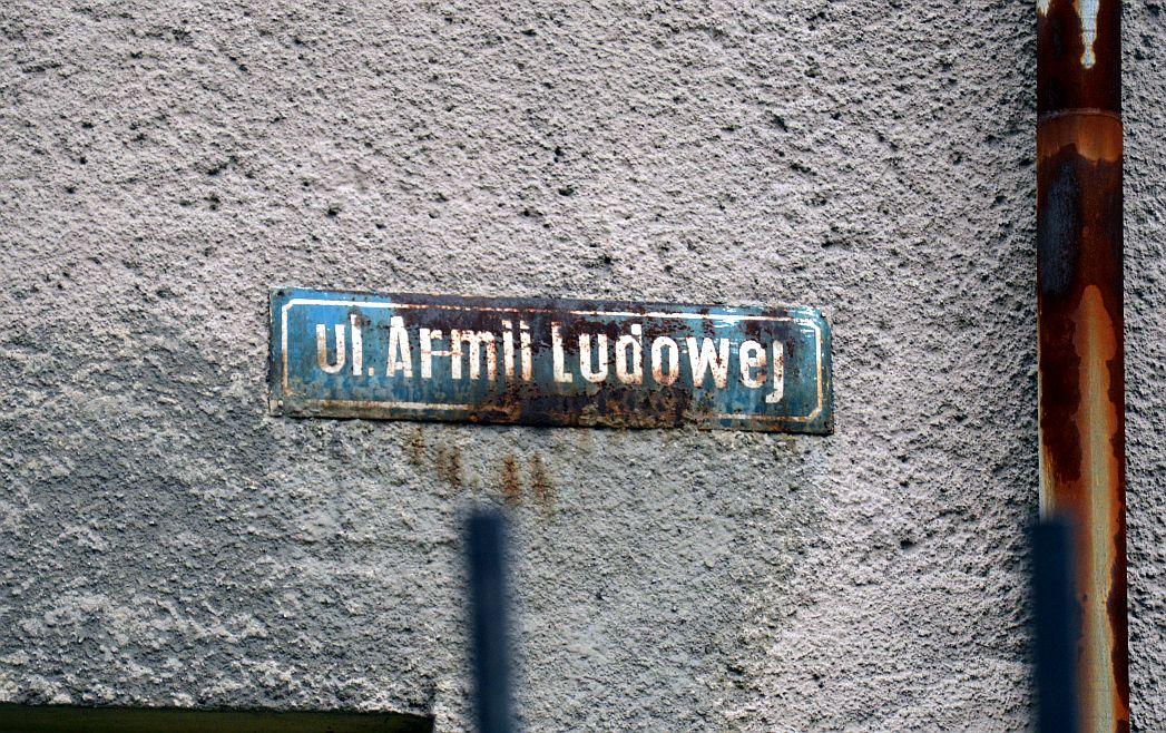 Legnica: Ulica Ludowa zamiast Armii Ludowej?
