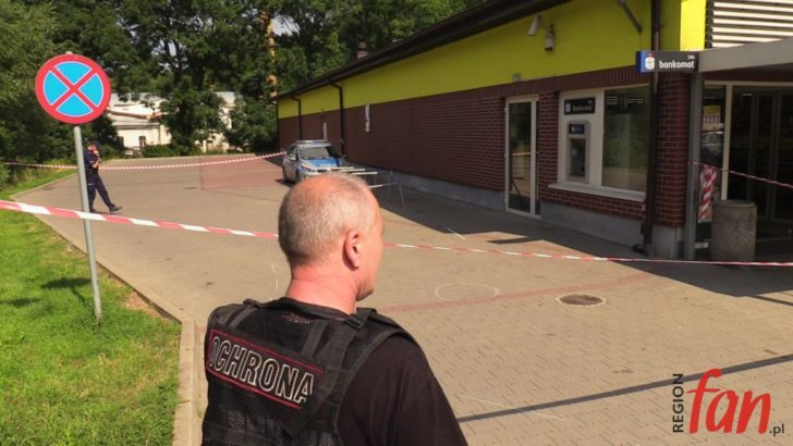 BOLKÓW: Nieudana próba włamania do bankomatu
