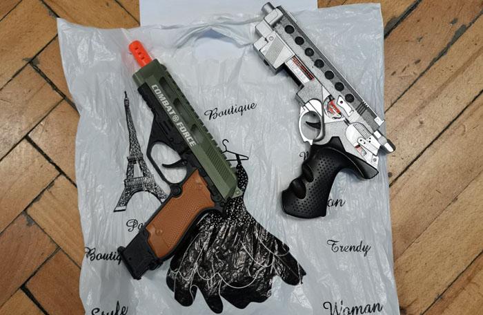 Pistolet zabawka – zarzuty na serio (WIDEO)
