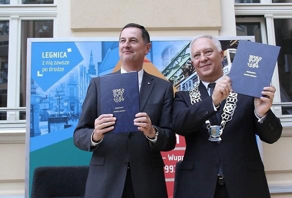 Legnica świętuje 25-lecie partnerstwa