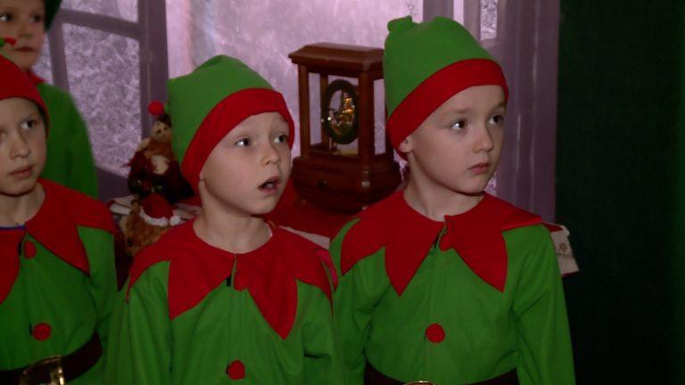 Mikołaj teleportował swój dom do przedszkola
