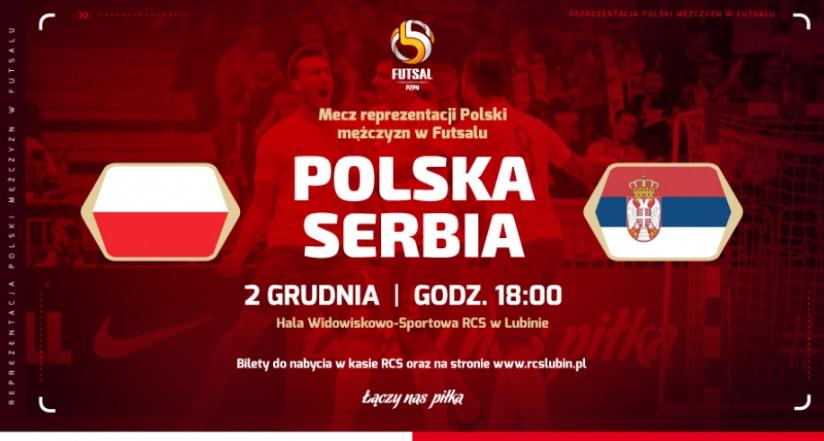 Ruszyła sprzedaż biletów na mecz Polska – Serbia!