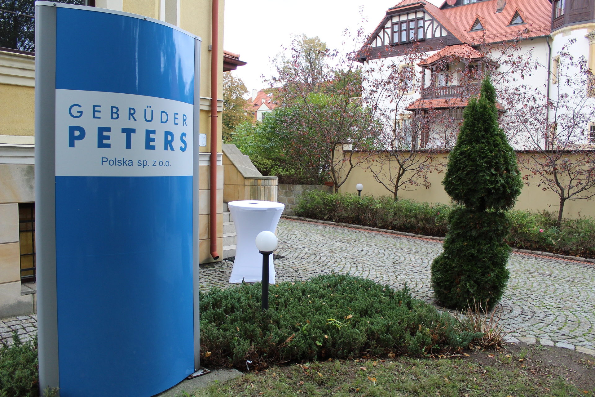 GEBRÜDER PETERS ma swoje miejsce w Legnicy