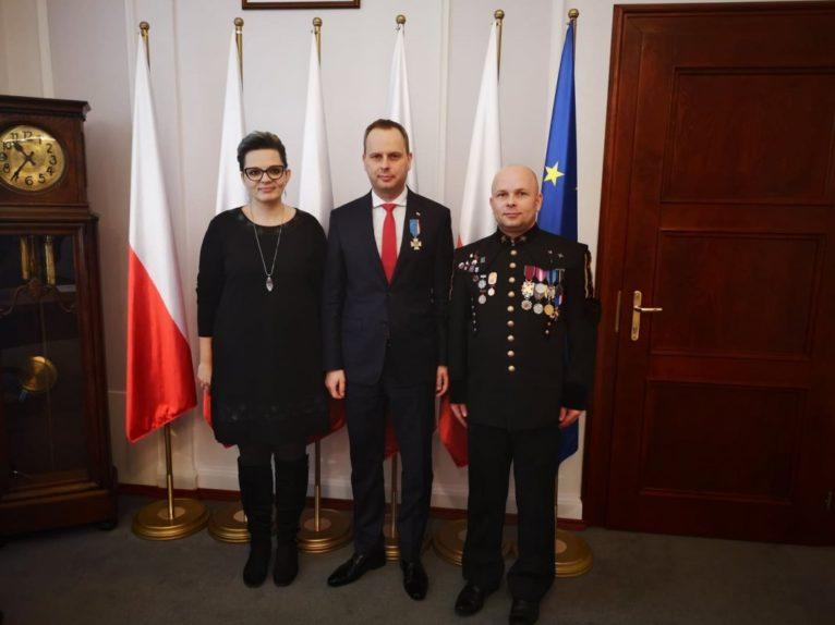 Lubińscy krwiodawcy odznaczyli wojewodę (FOTO)