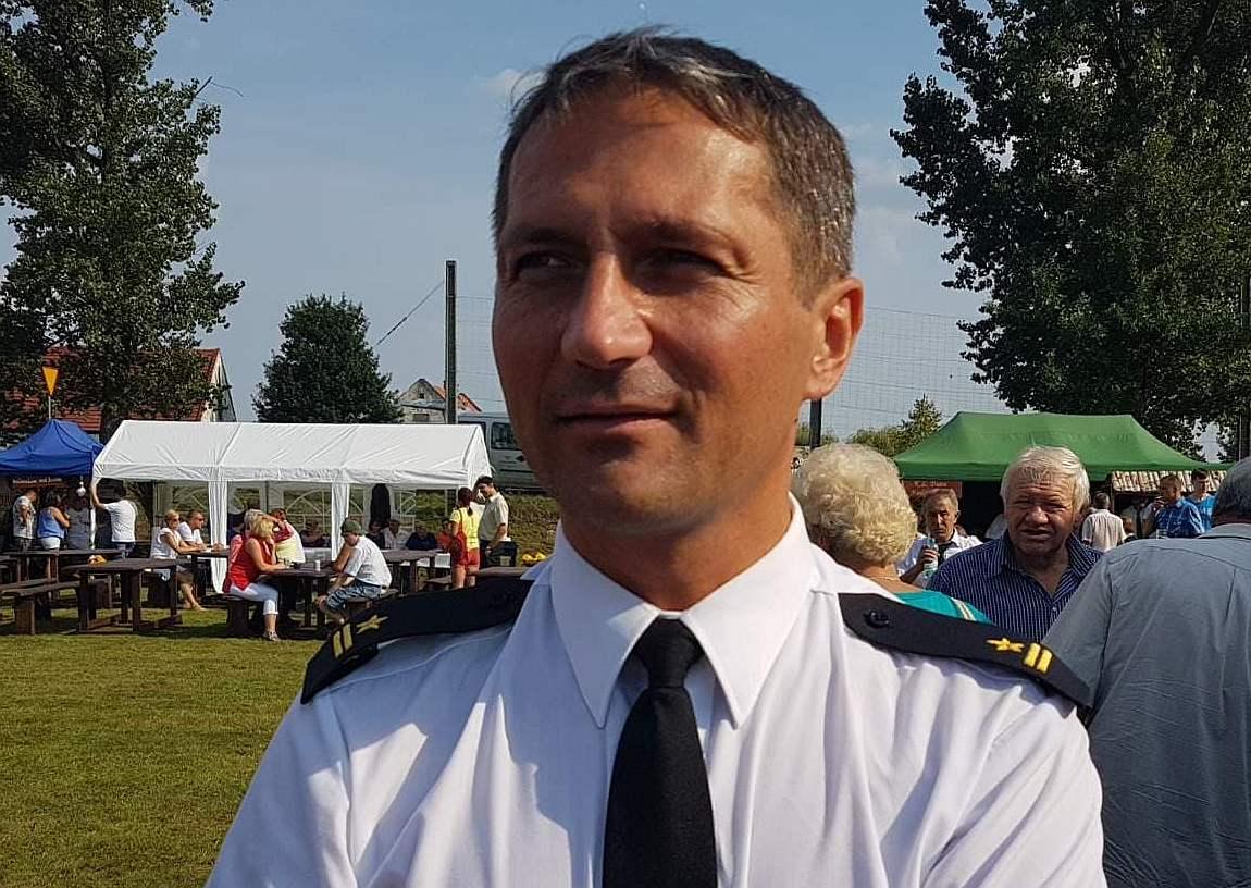 Oświadczenie komendanta legnickich strażaków