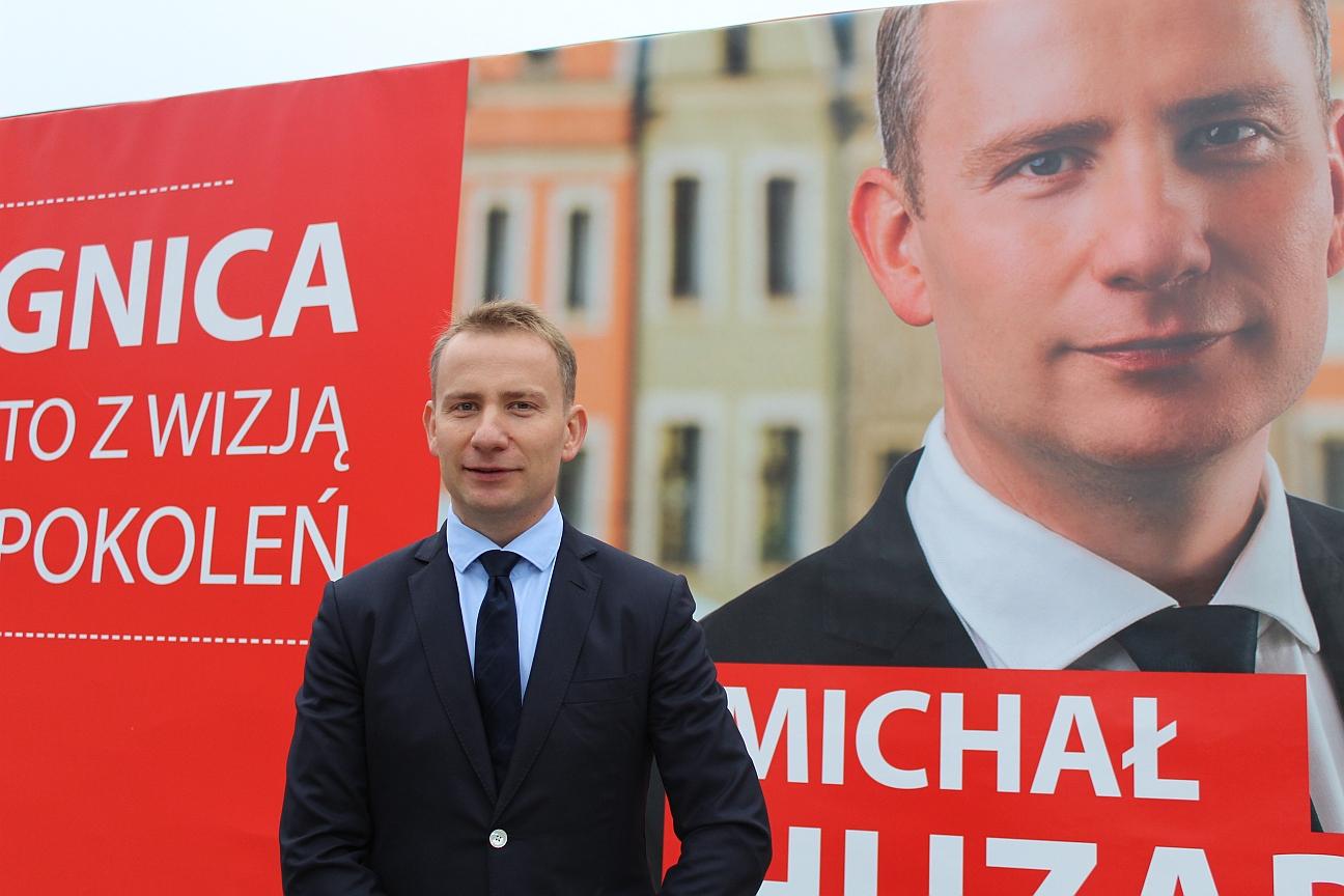 Huzarski zaprasza legniczan na wybory