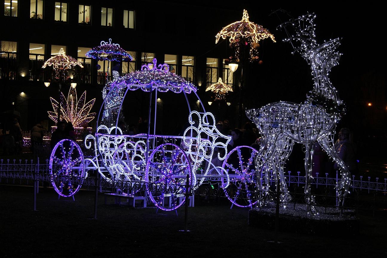 Bajkowe iluminacje w Legnicy (FOTO)