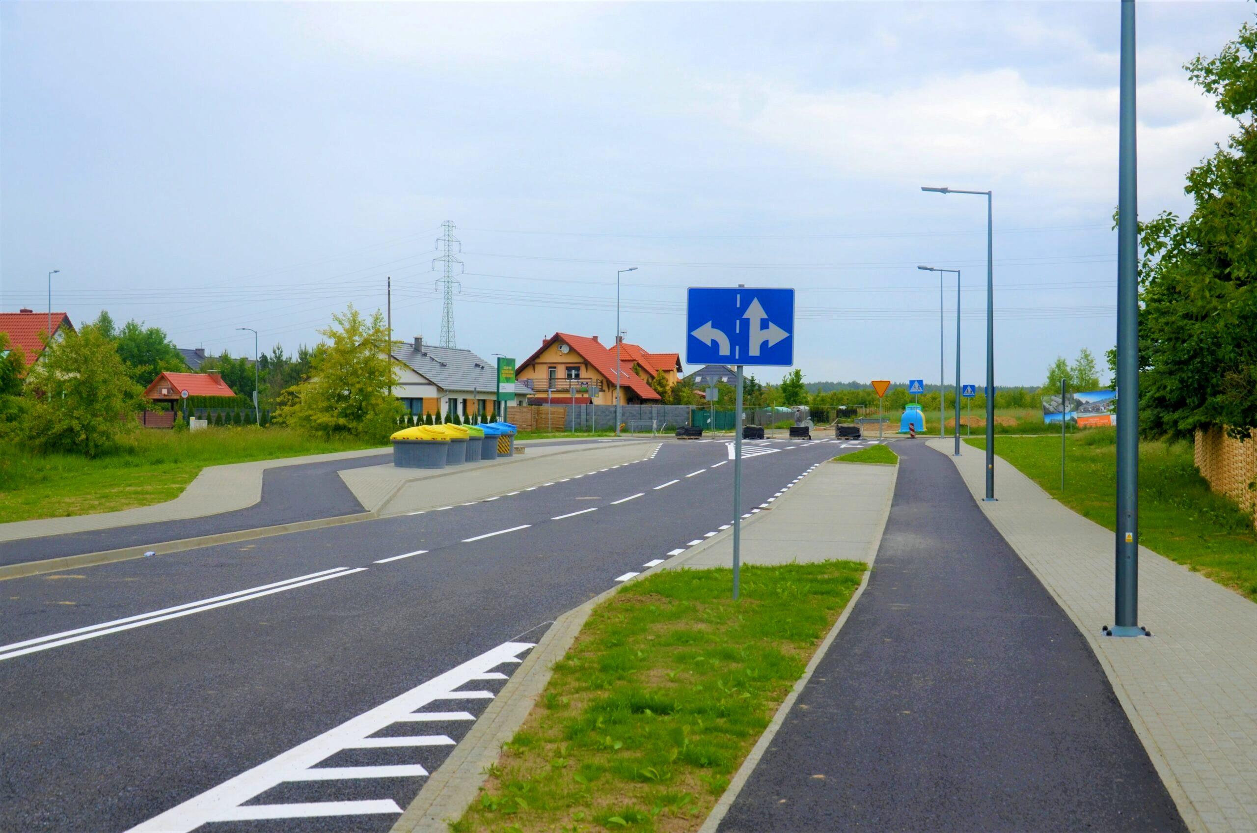 Nowa ulica gotowa do użytku