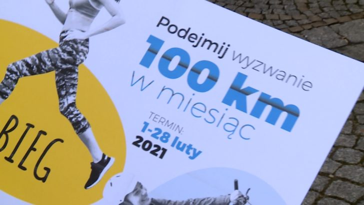 100 km w miesiąc (WIDEO)