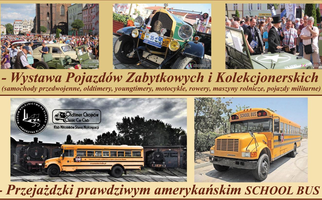 Klasyki i amerykański autobus w Chojnowie