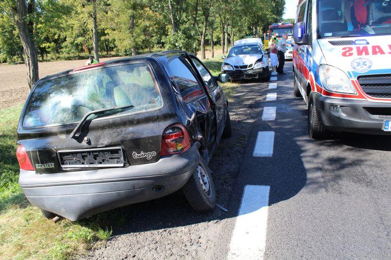 GMINA LUBIN. Wypadek koło Niemstowa
