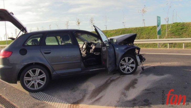 Zasnął za kierownicą – spowodował kolizję (FOTO, WIDEO)